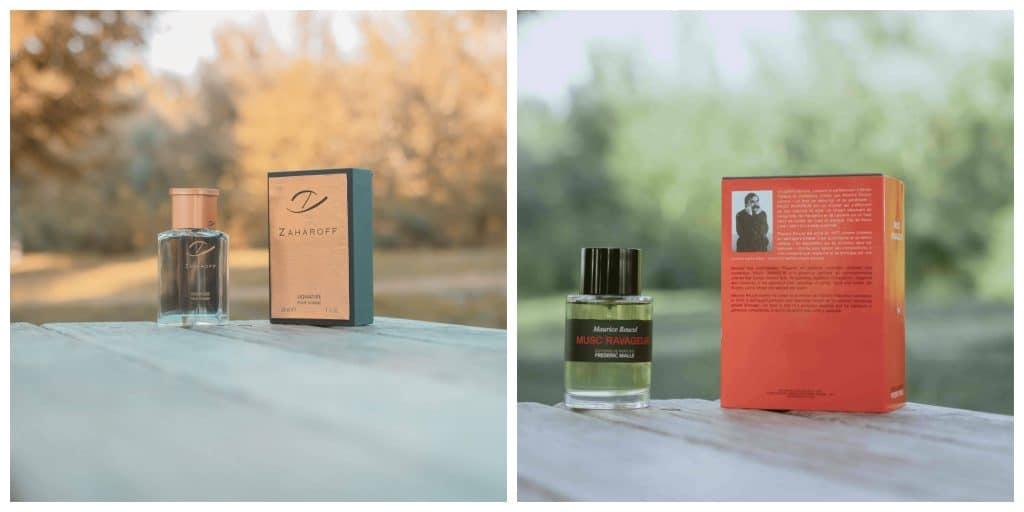 Designer Vs Niche Fragrances, Musc Ravageur and Zaharoff Signature Pour homme