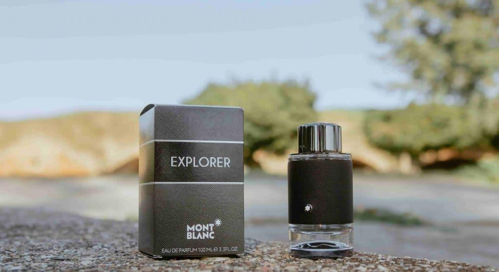 Montblanc Explorer bottle and box
