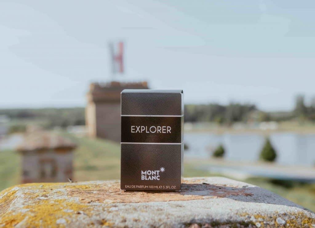 Montblanc Explorer box na rock