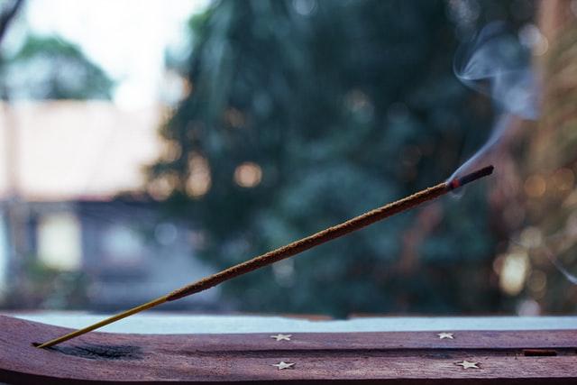 burning incense stick