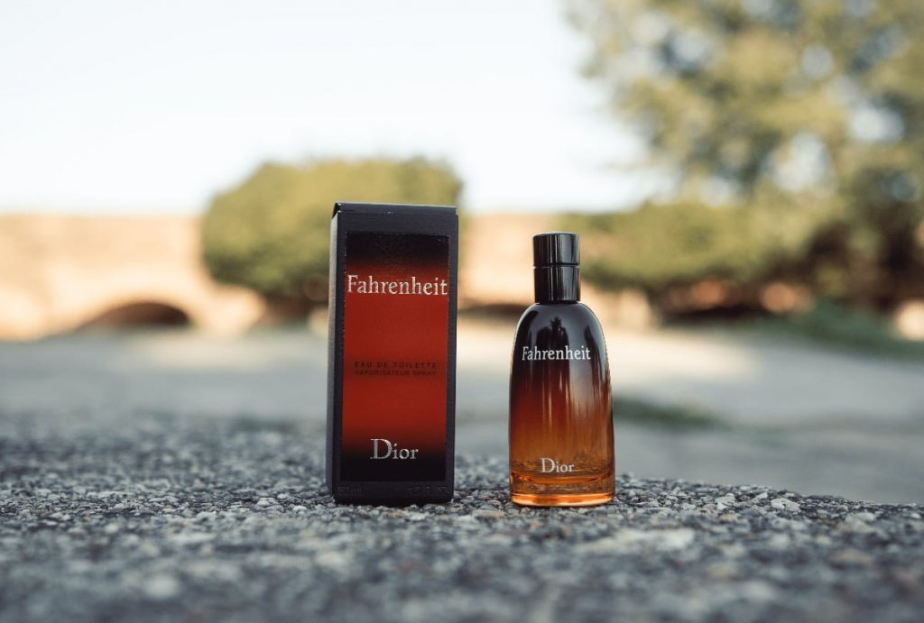 Dior Fahrenheit Bottle and Box