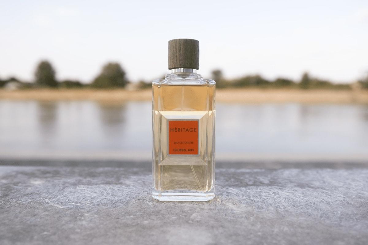 Guerlain Heritage Eau de Toilette bottle