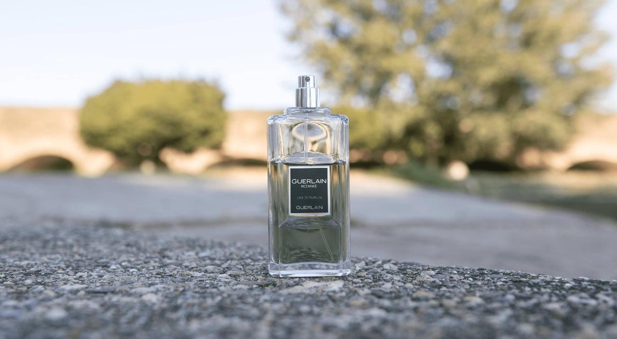 guerlain homme eau de parfum bottle