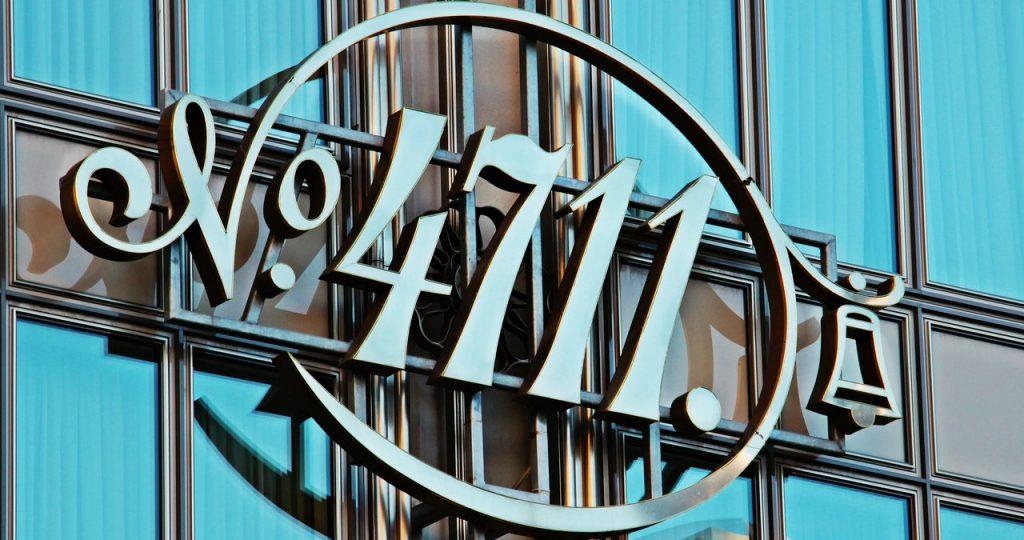 4711 company logo - history of perfume