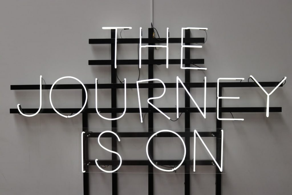 the journey is on sign - most important fragrances