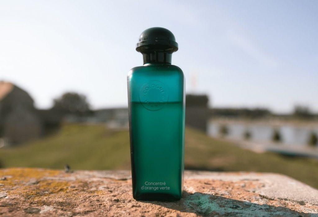 Concentre D'Orange Verte bottle closeup