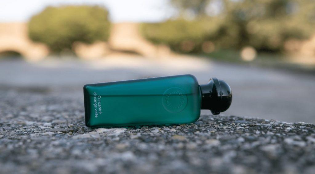 Concentre D'Orange Verte bottle side