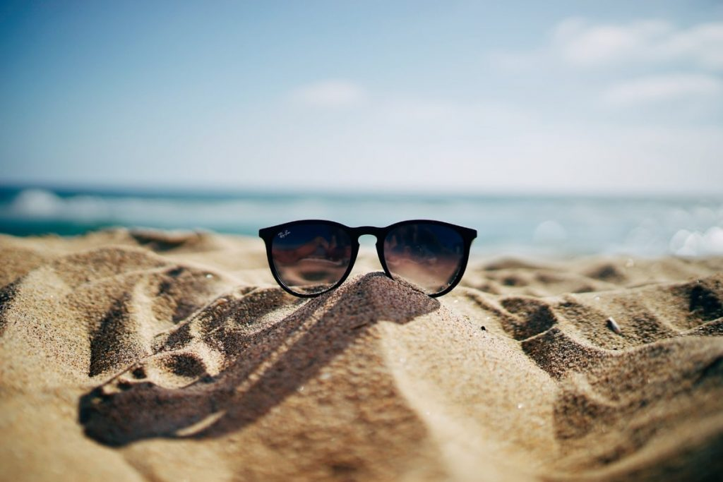 sunglasses on the sand - Fragrance Families