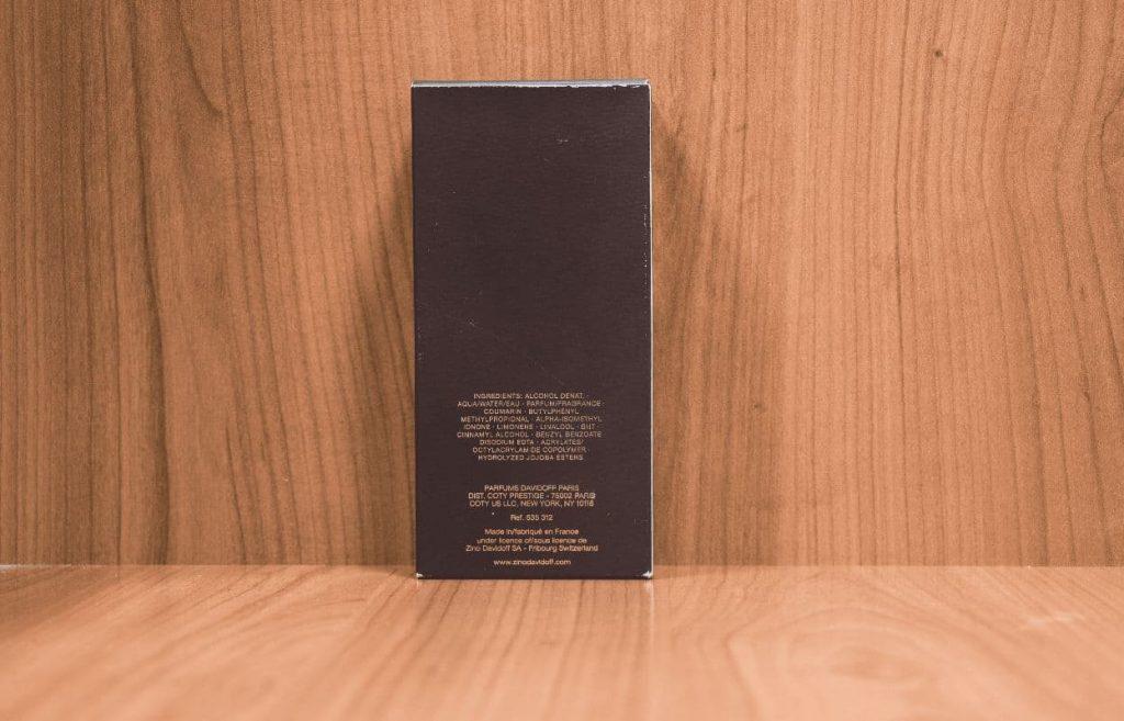 Davidoff Leather Blend Box Back