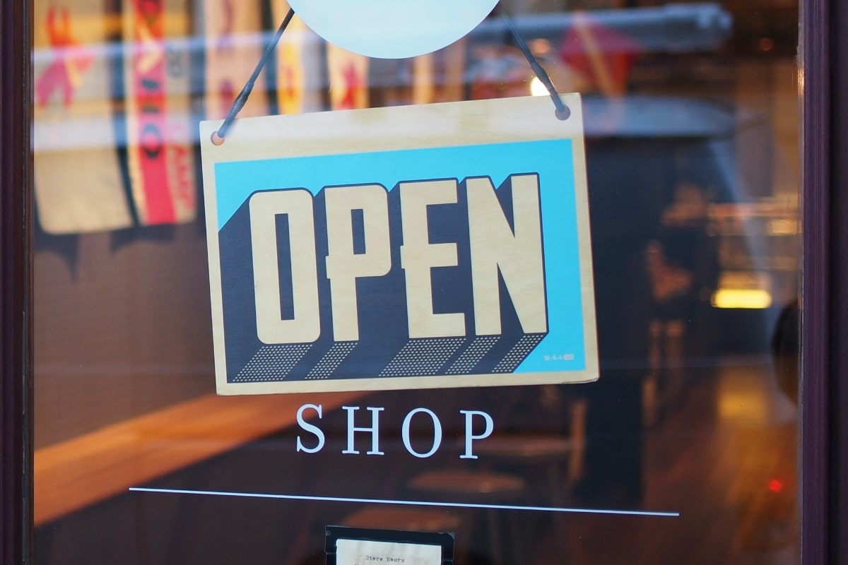 open store sign - perfume shopping tips