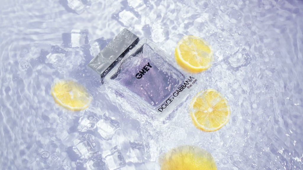 perfume in ice - fragrance collection