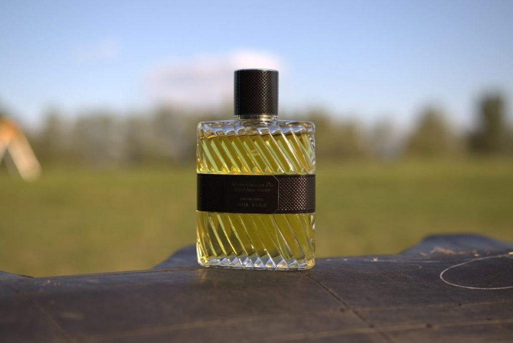 Dior Eau Sauvage Parfum 2017 bottle back