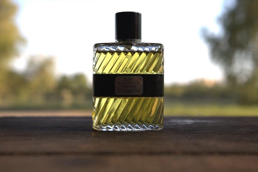 Dior Eau Sauvage Parfum 2017 on table