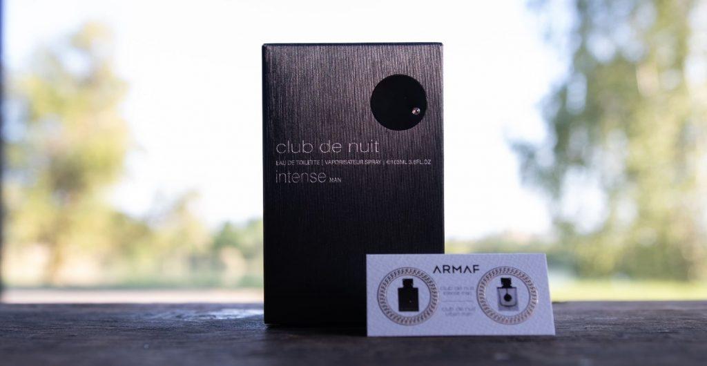 armaf Club De Nuit Intense Man box