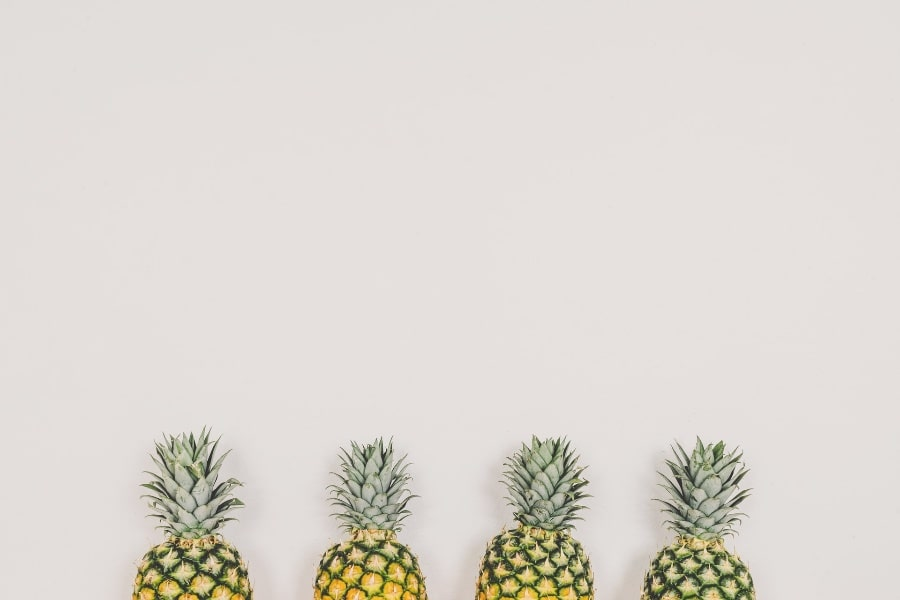 pineapple fruits