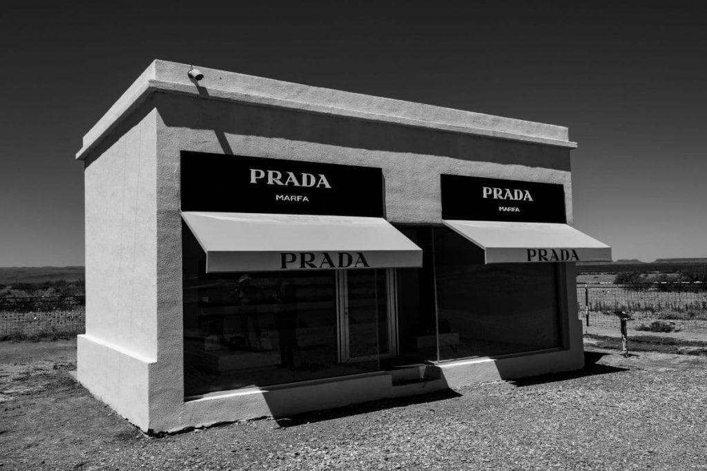 Designer Perfume Brands - Prada store