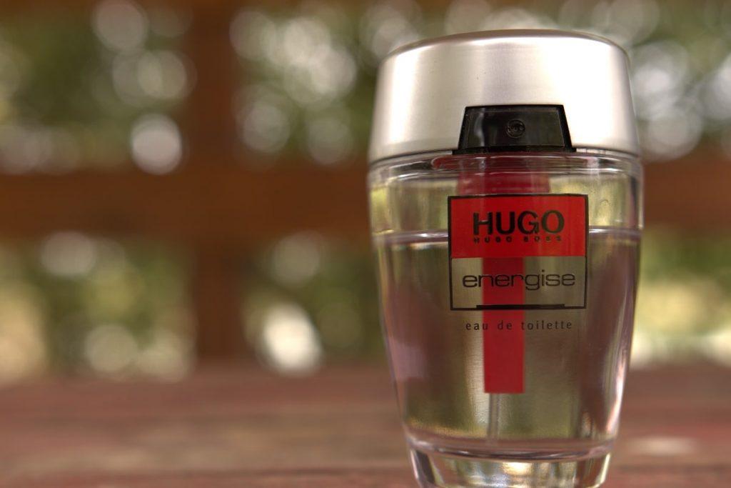 Hugo Energise For Men Bottle Closeup