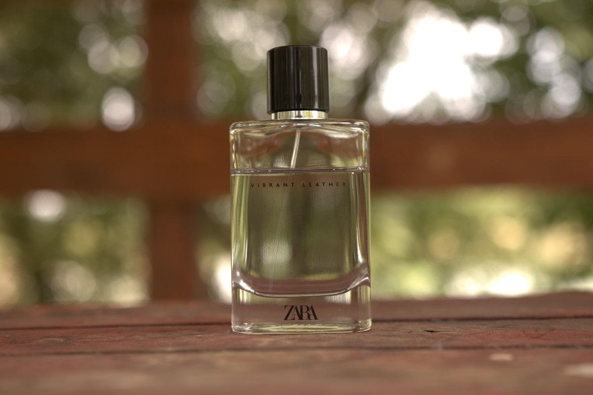 Zara Vibrant Leather bottle cover
