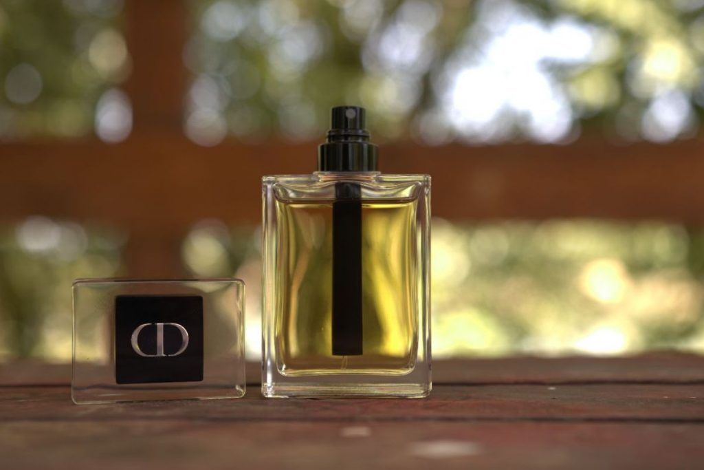 Dior Homme 2020 bottle and cap