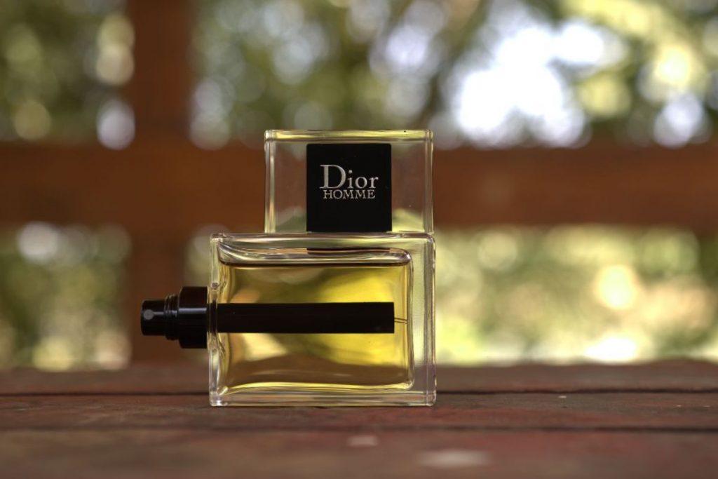 Dior Homme 2020 bottle sideways