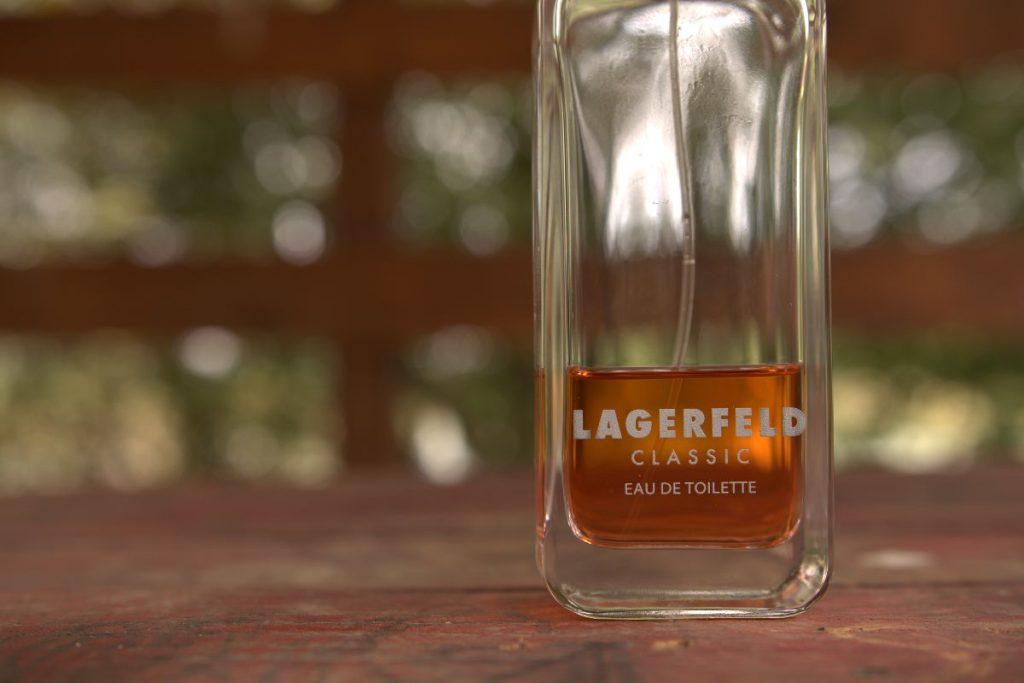 Karl Lagerfeld Classic closeup